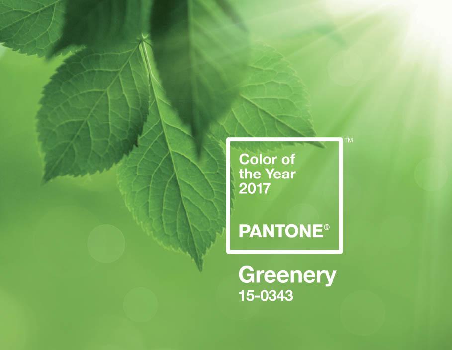Le vert «Greenery», couleur de l'année