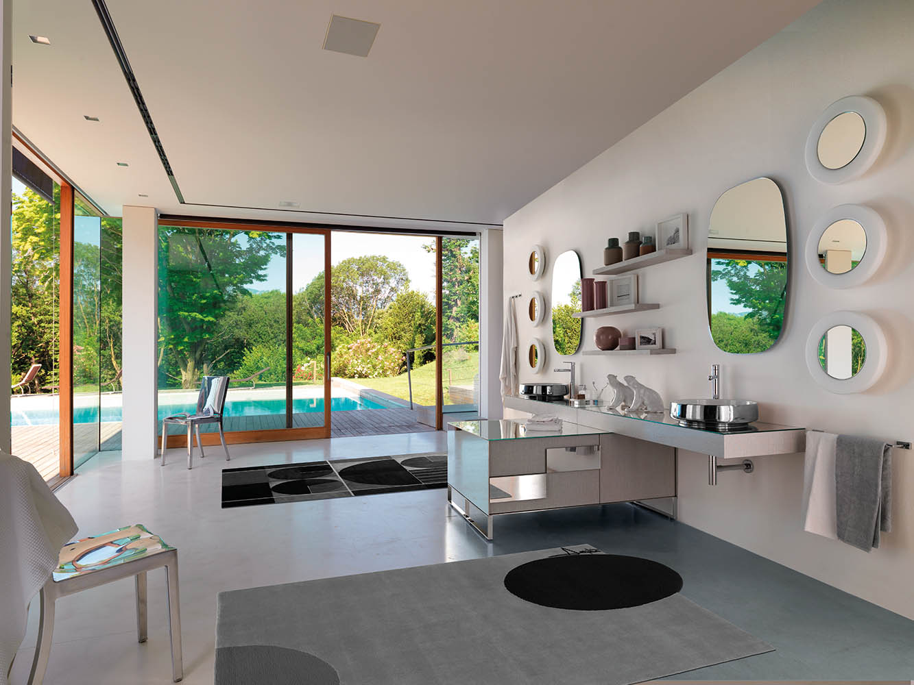 Accessoire Salle De Bain Zone ~ la salle de bain se fait une beaut deco actuelle