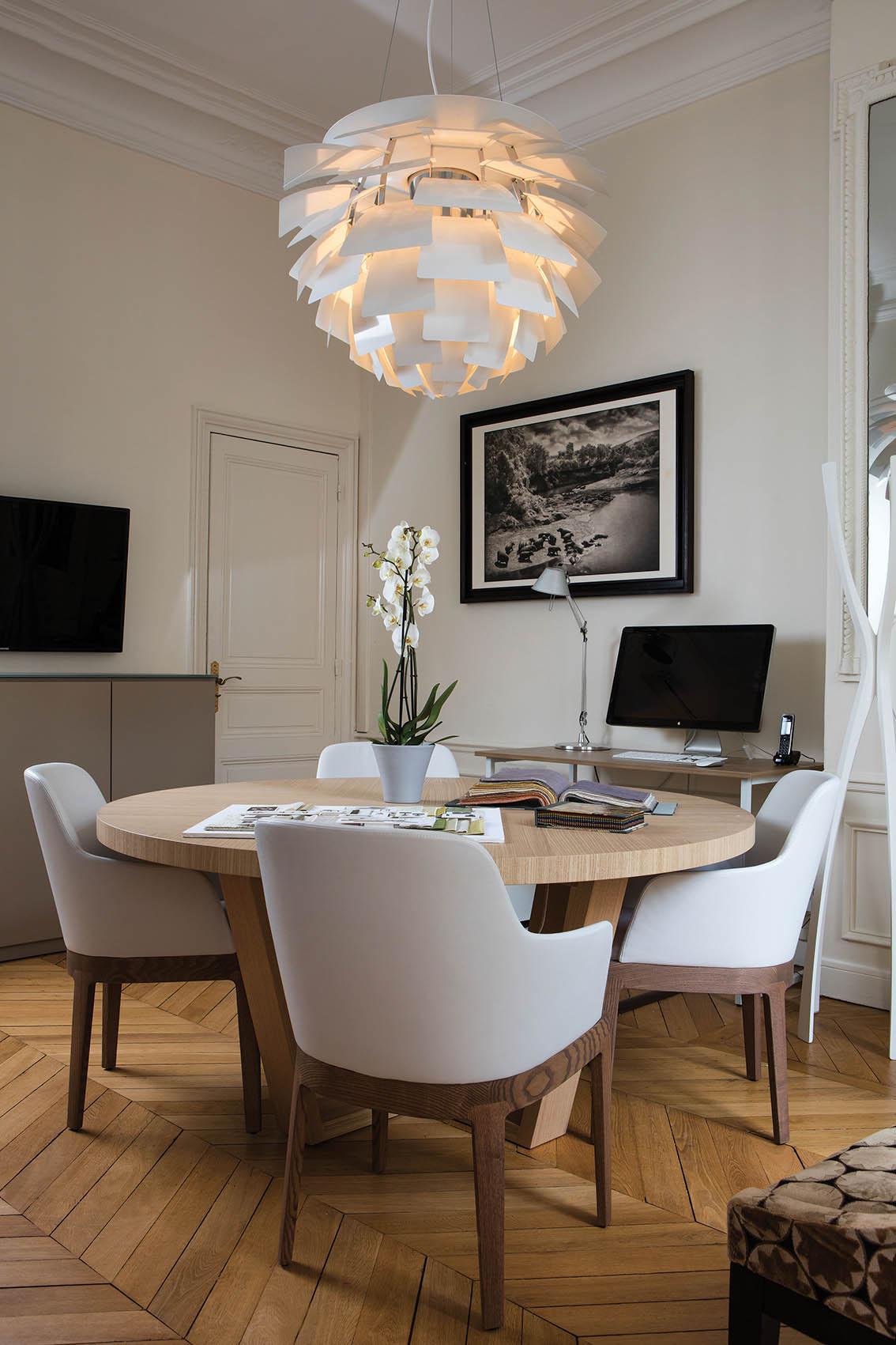 paris florence les bureaux de sybille de margerie deco actuelle. Black Bedroom Furniture Sets. Home Design Ideas