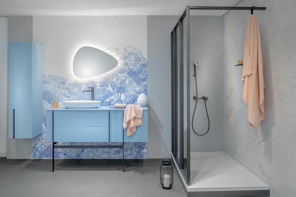 Quand la Salle de bain se réinvente