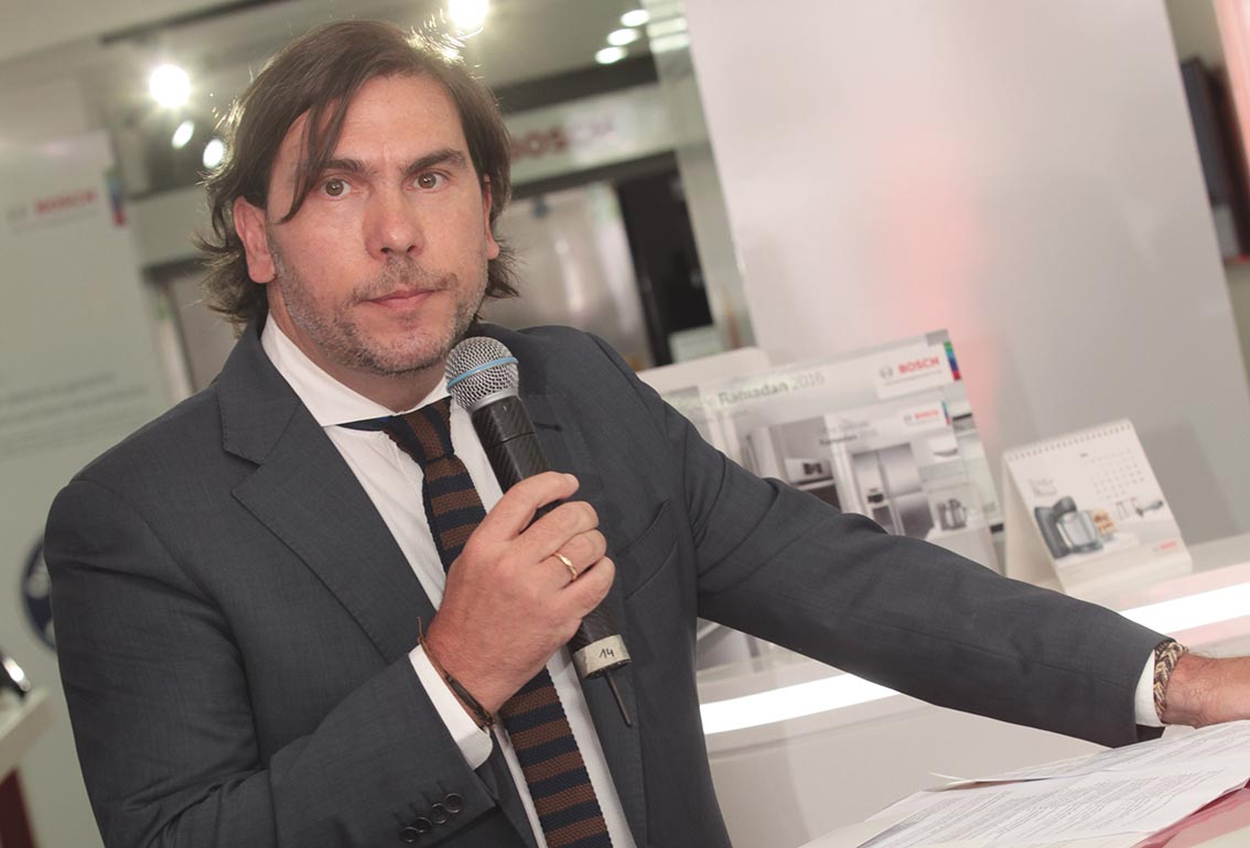 5 questions à Luis Alvarez Gomez  de Salazar, directeur général de BSH Electroménagers S.A