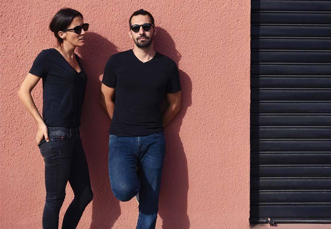 Dorothée Ricard  et Sylvain Ragueneau   «Pour nous, faire du beau n'est pas très passionnant. Par contre, ce que nous aimons à penser c'est que notre travail peut rendre la vie de nos clients plus belle.»
