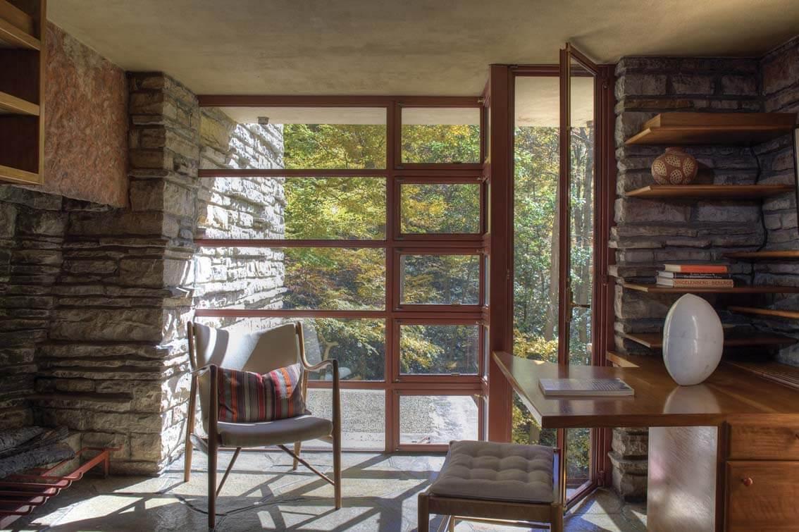 La Maison sur la cascade : une icône architecturale