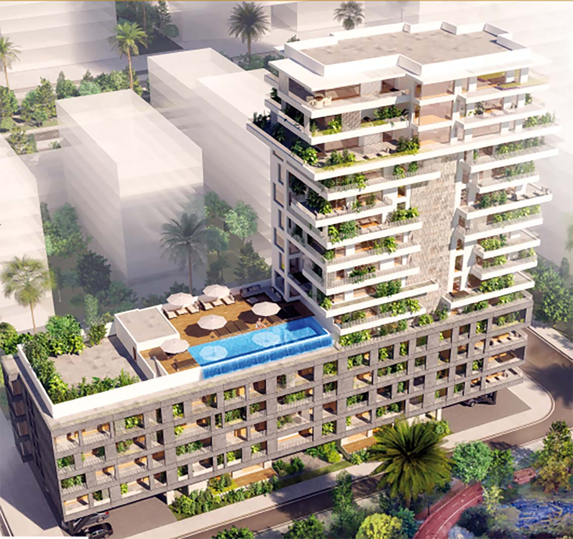 Un nouveau projet à Casa-Anfa  avec la nature pour seul vis-à-vis