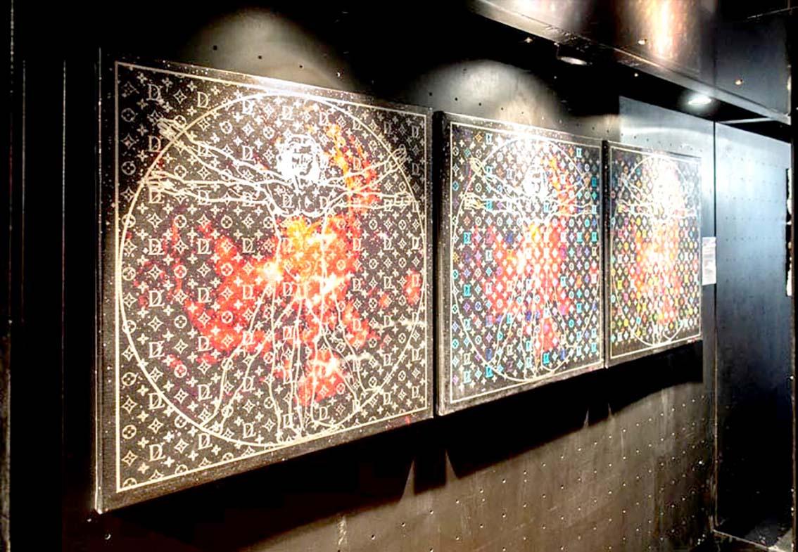 «Veni, Vidi, Vinci», un clin d'œil  audacieux au maître italien