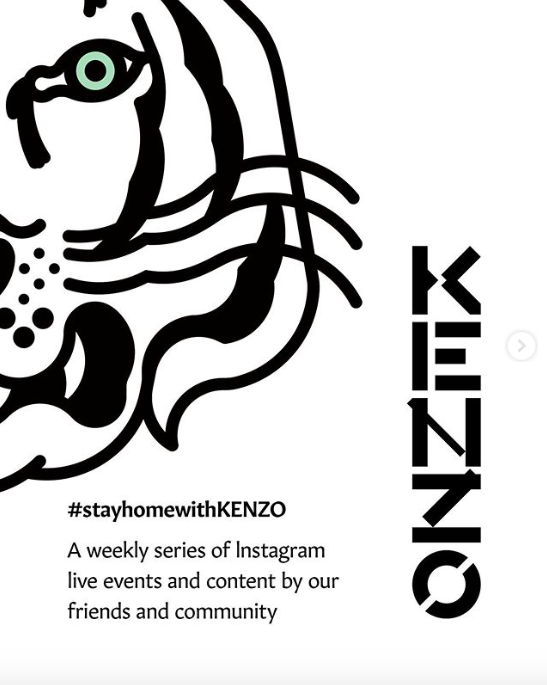 #Stayhome de Kenzo
