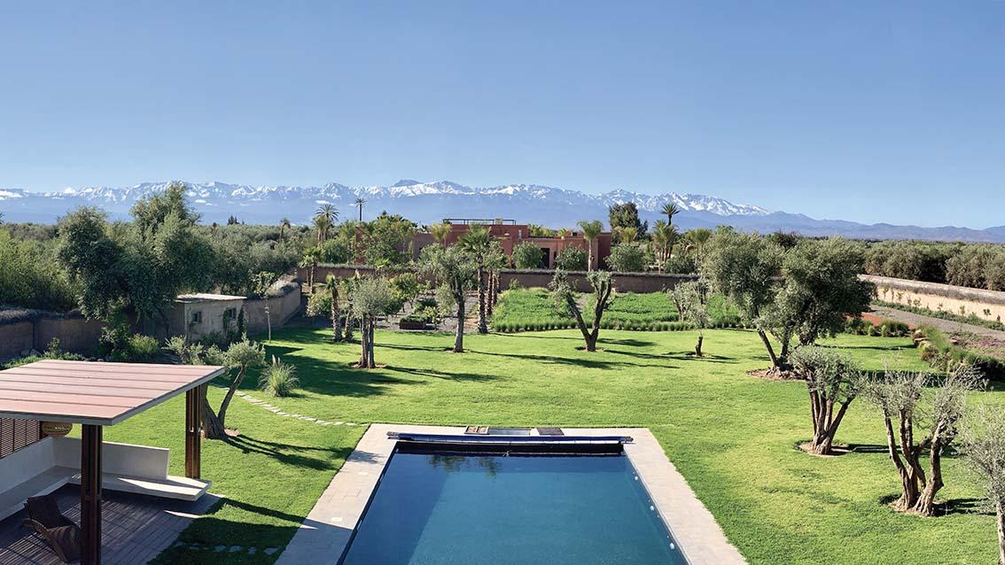 Hélios Marrakech, la villa solaire