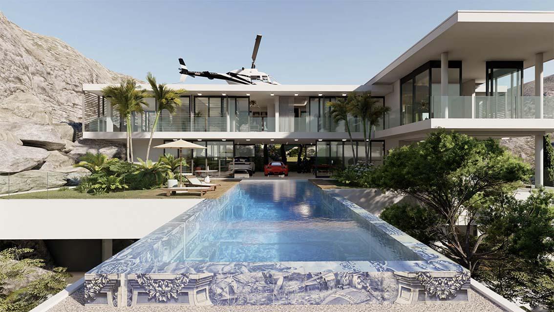 Visitez un manoir d'une île de 15 millions de dollars avec des fonctionnalités exclusives
