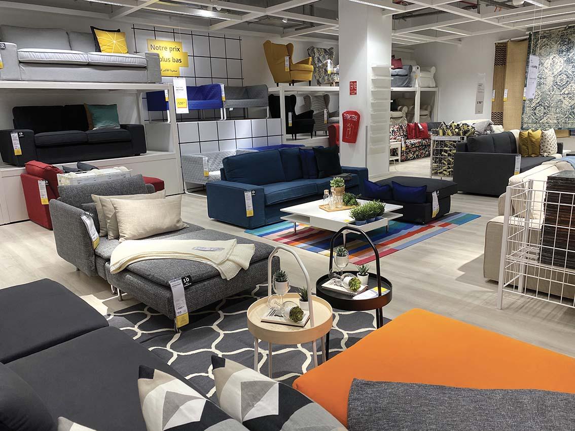 IKEA fait son entrée en ville