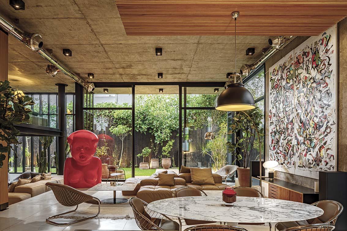 Villa Jacaranda,  une esthétique contemporaine  et locale