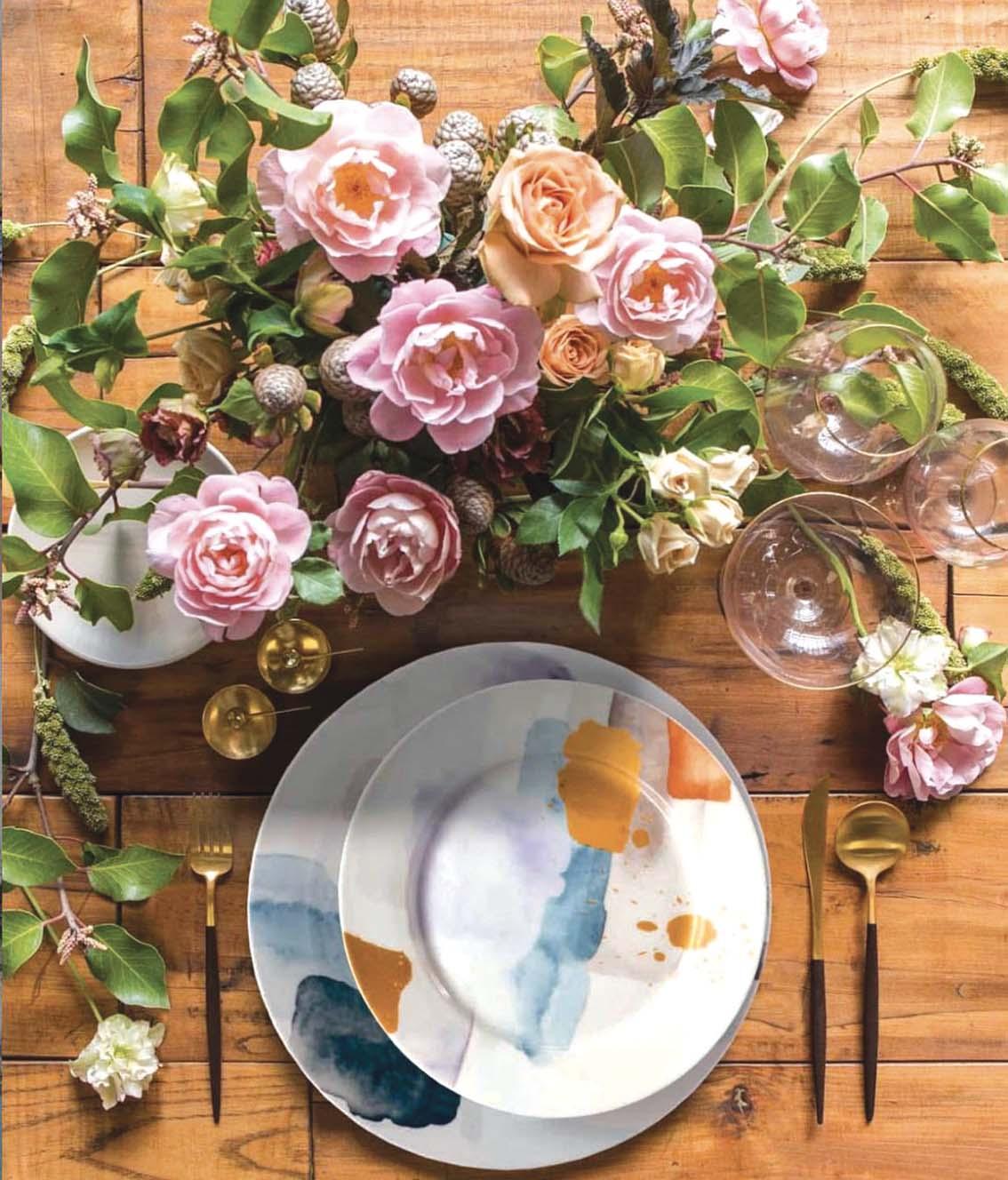 Quand l'art de la table  nous veut du bien au quotidien!