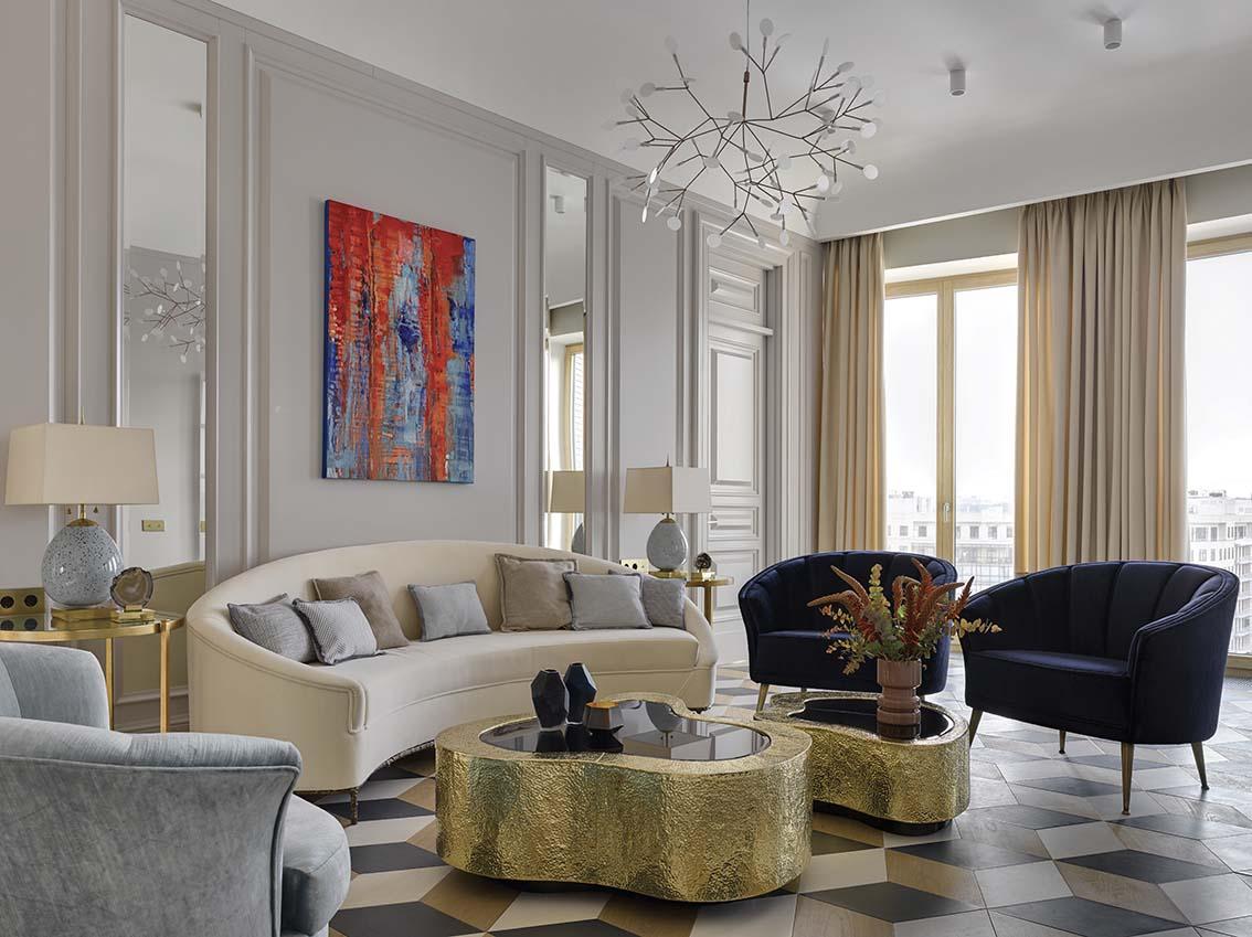 Un appartement chic et eclectique