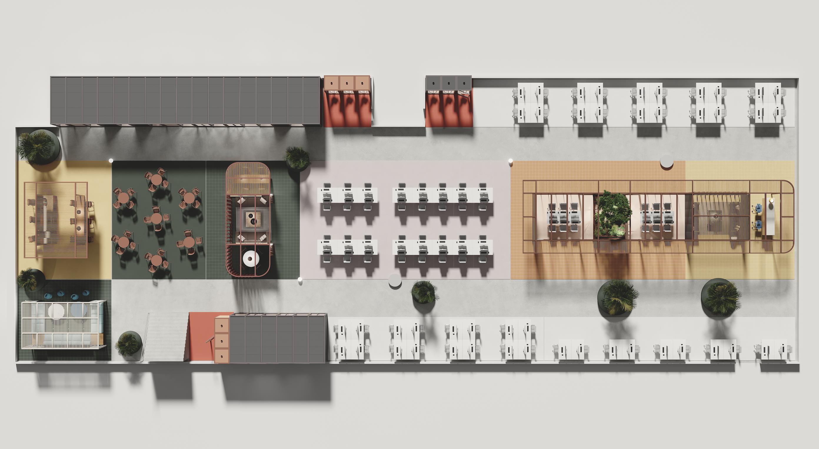 Pavilion O. by Kettal, du mobilier de bureau pour passer en mode Agile